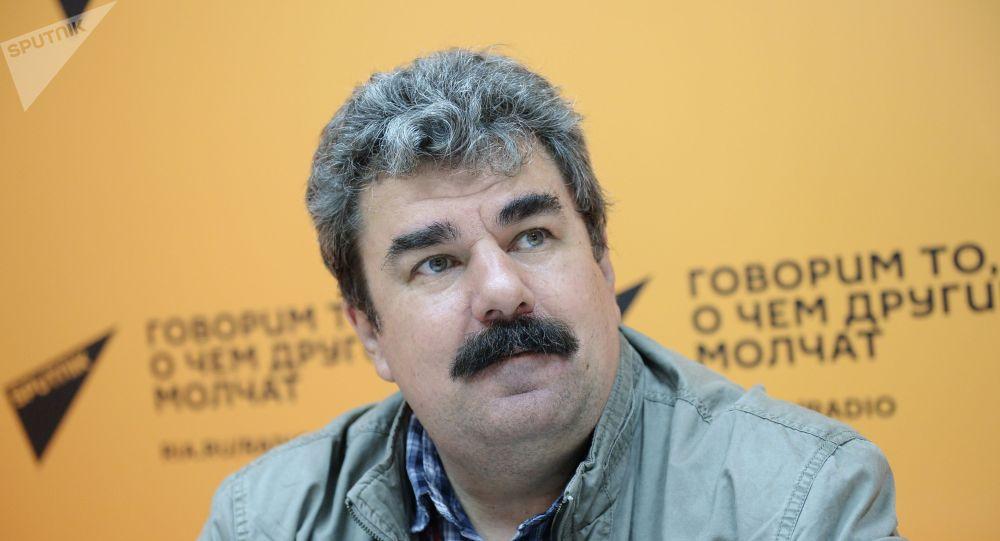 Военный эксперт, главный редактор журнала Арсенал Отечества Алексей Леонков. Архив