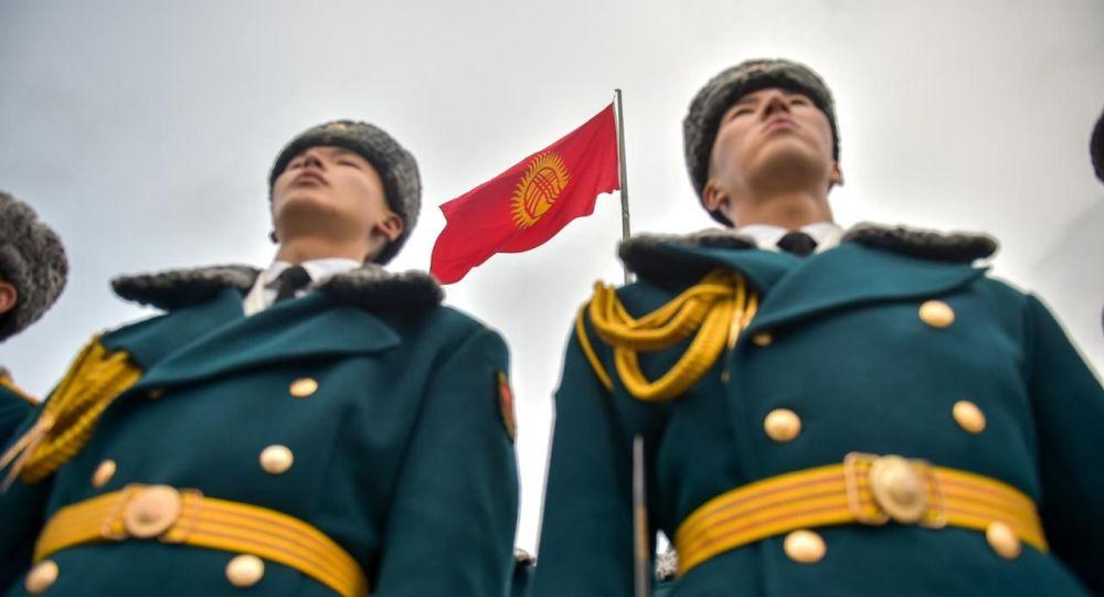 Празднование Дня государственного флага КР в Бишкеке. Архивное фото