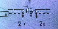 На кадрах с учений видно, как противотанковые ракеты Вихрь, выпущенные со штурмовика Су-25, уничтожают танк и бомбардировщик.