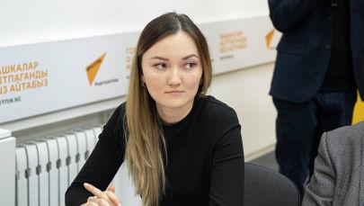 Назначенная руководителем управления образования мэрии Бишкека Назгуль Лосникова. Архивное фото
