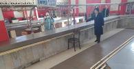 Бишкектин базарларын дезинфекциялоо