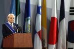 Бывший Генеральный секретарь ООН и премьер-министр Перу Перес де Куэльяр. Архивное фото