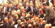Депутаттардын массалык мушташынын видеосу