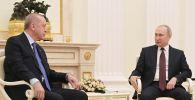 Россия президенти Владимир Путин менен Түркия башчысы Режеп Тайип Эрдоган