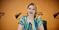 Член Ассоциации гидов Грузии Екатерина Ломадзе в Мультимедийном пресс-центре Sputnik