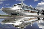Один из крупнейших круизных лайнеров в мире Grand Princess. Архивное фото