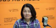 Психолог Сейил Калдыбаева. Архив