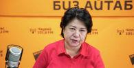 Кыргыз эл жазуучусу Төлөгөн Касымбековдун жубайы Элмира Касымбекова