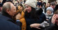 Россиянын президенти Владимир Путин Иваново шаарына барганда жергиликтүү кыз ага үйлөнүүнү сунуштады