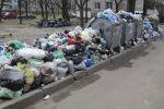Невывезенный мусор во дворах. Архивное фото