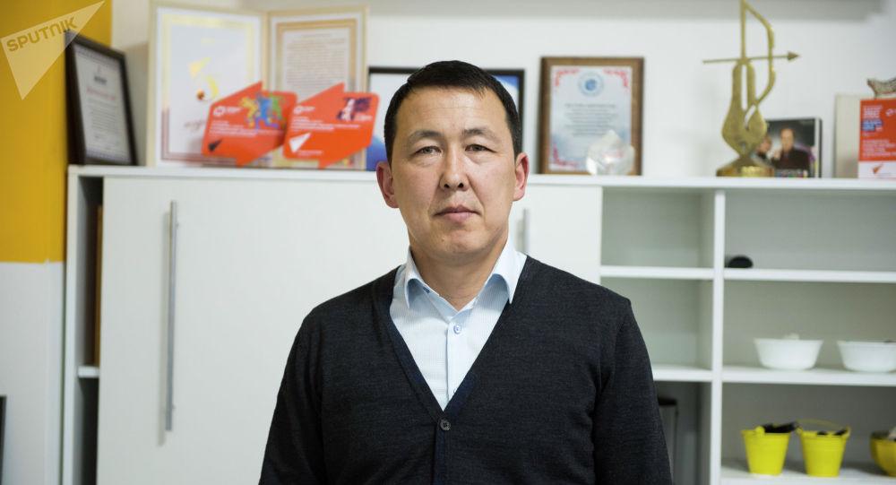 Назначенный директором коммунального предприятия Бишкектеплоэнерго назначен Баимбет Байгараев. Архивное фото