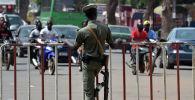 Полицейский Буркина-Фасо. Архивное фото