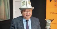 Директор Национальной ассоциации пастбищепользователей Кыргызстана Абдымалик Эгембердиев на радио Sputnik Кыргызстан