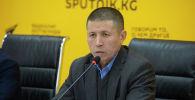 Бишкек шаардык транспорт башкармалыгынын жетекчиси Нурлан Атыканов