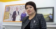 Билим берүү жана илим министрлигинин Мамлекеттик тилди өнүктүрүү секторунун башчысы Гүлнара Ибраимова