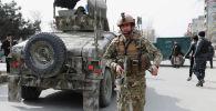 Афганские силы безопасности в Кабуле. Архивное фото