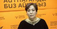 Мастер скульптурного массажа лица, автор методики обучения и выпускница Американской академии гипноза Мира Кулабаева на радио Sputnik Кыргызстан