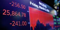 Нью-Йоркс фондалык биржасы. Архивдик сүрөт