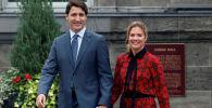 Премьер-министр Канады Джастин Трюдо и его жена Софи Грегуар Трюдо. Архивное фото