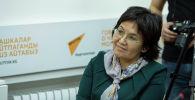 Новоназначенный посол Кыргызстана в России Гульнара-Клара Самат. Архивное фото