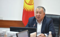 Биринчи вице-премьер-министр Кубатбек Боронов. Архив