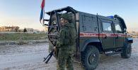 Россия менен Түркиянын аскерлери Идлибде. Архивдик сүрөт