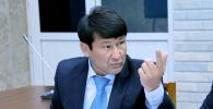 Эски депутат Анарбек Калматов. Архивдик сүрөт