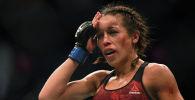 Польский боец UFC Джоанна Енджейчик после боя с Вэйли Чжан на турнире UFC 248 в Лас-Вегасе. Архивное фото