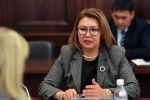 Мурдагы вице-премьер Алтынай Өмүрбекова. Архив