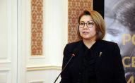 Экс-вице-премьер-министр КР Алтынай Омурбекова