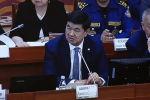 Жогорку Кенеш заслушивает информацию правительства о мерах по борьбе с вирусом COVID-19. На вопросы отвечают премьер-министр Мухаммедкалый Абылгазиев и его подчиненные.
