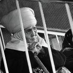 Лифти бар үйдөгү тепкичтер тасмасын тартуу учуру, Сабира Күмүшалиева менен Жумаш Сыдыкбекова