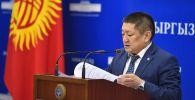 Экс-министр здравоохранения КР Космосбек Чолпонбаев. Архивное фото