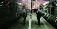 Темир жол вокзалы. Архив