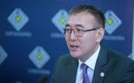 Председатель Национального банка КР Толкунбек Абдыгулов. Архивное фото