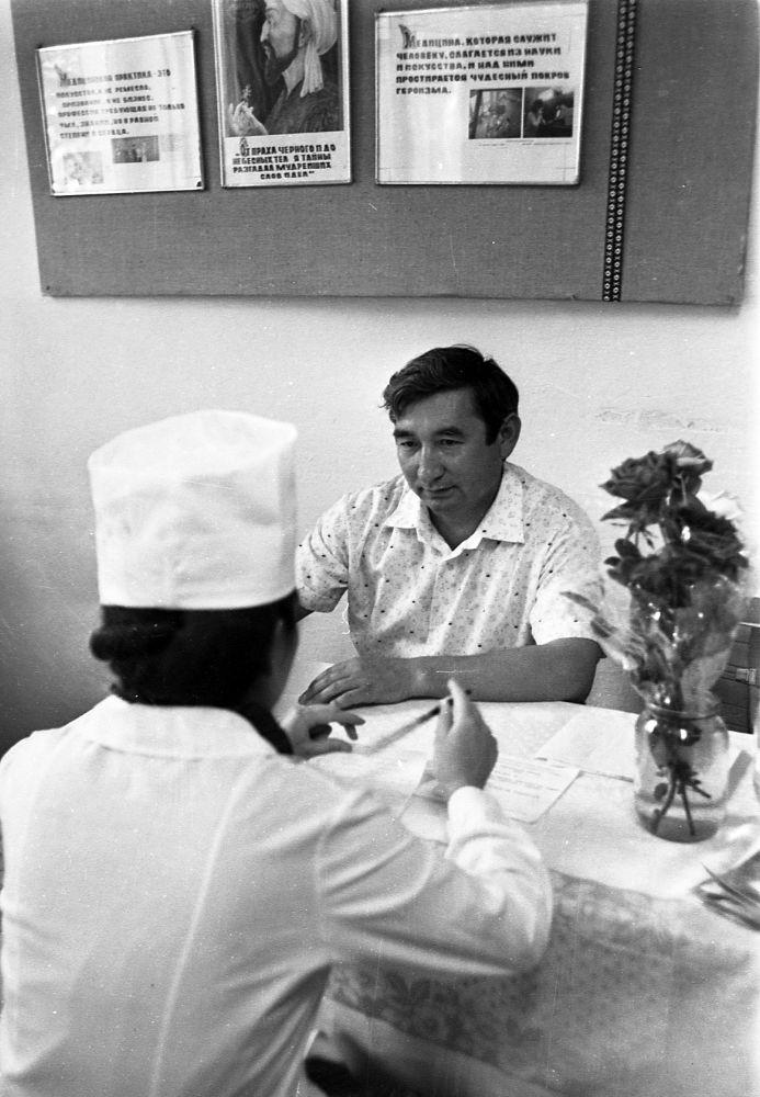 Экзамен в медицинском училище. Июнь 1987 года