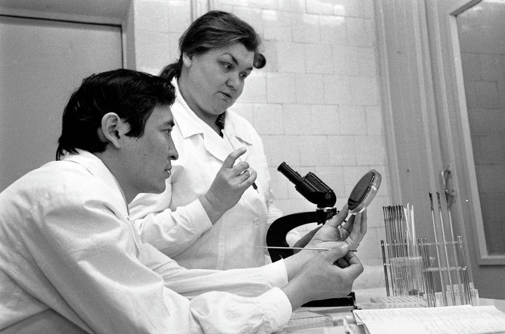 Институт гигиены. 1978 год