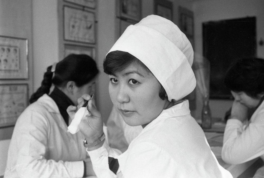 Занятие в медицинском училище