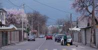 Вид на одну из улиц Бишкека. Архивное фото