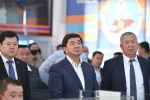 Премьер-министр Мухаммедкалый Абылгазиев республикалык ыкчам штабдын биринчи жыйынында