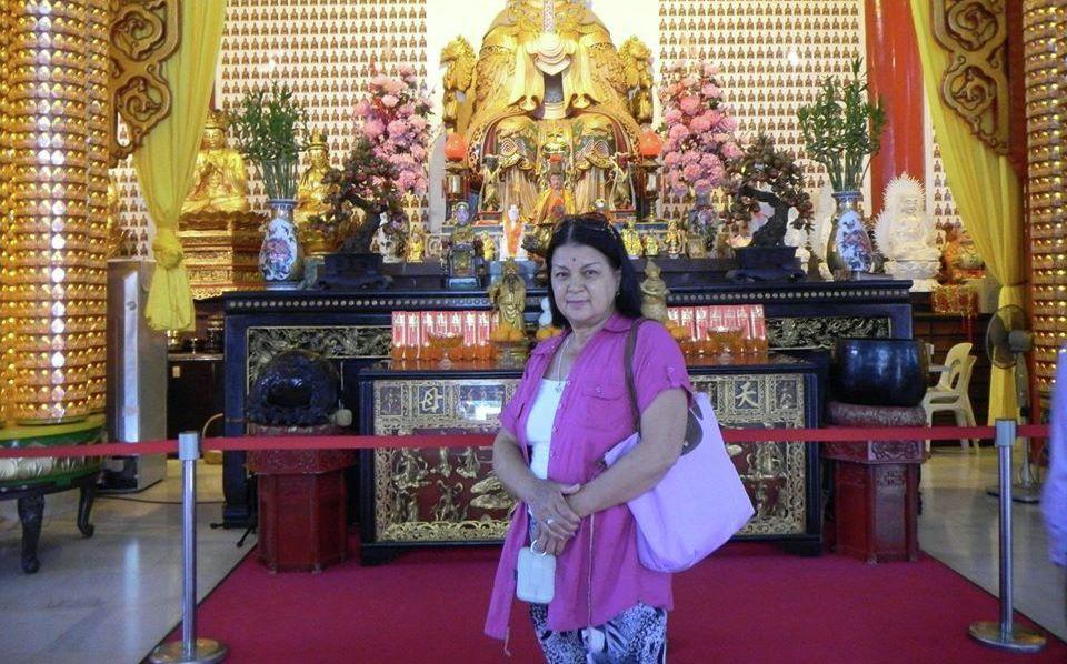 Доктор тибетской медицины Анархан Надирова