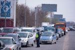 Бишкектеги жол тыгын. Архив