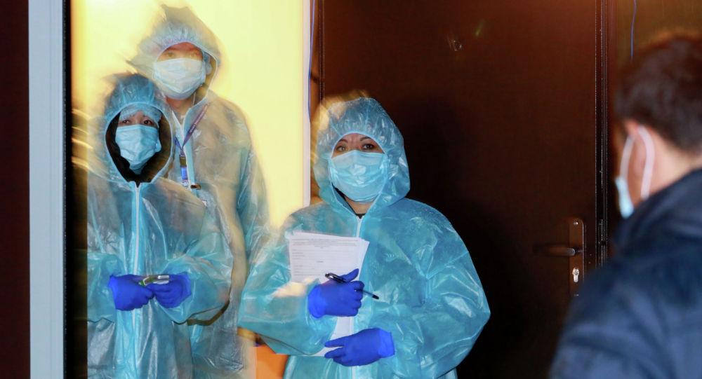 Казакстандын медицина кызматкерлери