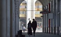 Кишилер коопсуз бет капчан Бишкек шаарында. Архив