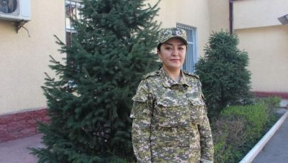 Начальник пресс-службы Госкомитета по делам обороны Римма Даниярова
