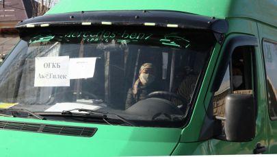 Ош шаарында дарыгерлерди ташууга 28 кичи автобус бөлүндү.
