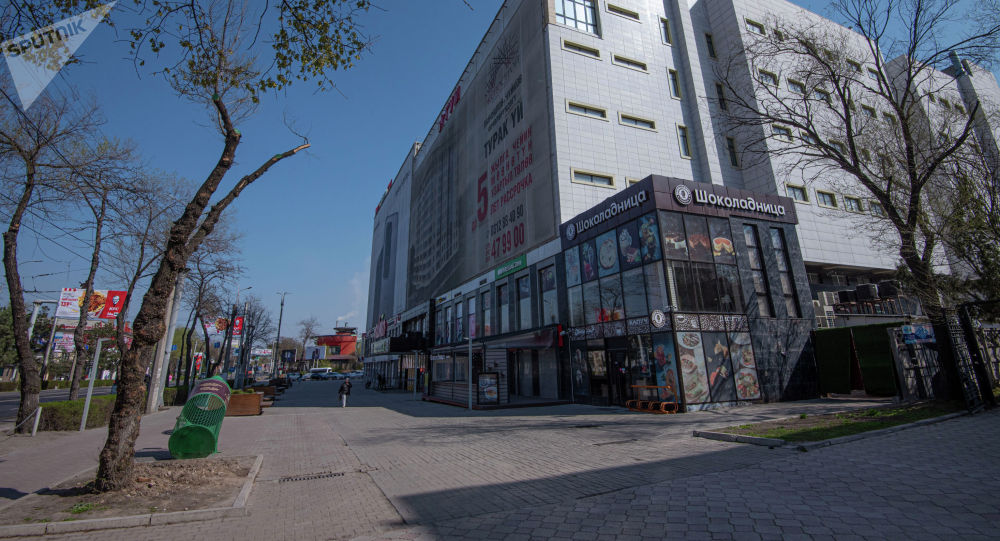 Вид на ТЦ ГУМ в Бишкеке. Архивное фото