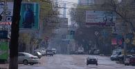 Бишкек шаарындагы жарнама такталары. Архив