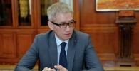 Вице-премьер-министр Эркин Асрандиев