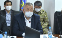 Биринчи вице-премьер-министр Кубатбек Боронов. Архивдик сүрөт